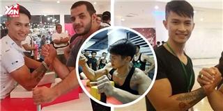 Màn thi đấu của chàng trai Việt vô địch giải vật tay mở rộng
