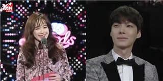 Lén chồng đến dự giải, Hye Sun được Jae Hyun nói yêu trên truyền hình
