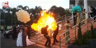 Những tai nạn hài hước  khó đỡ  trong đám cưới