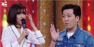 Trường Giang chặt chém khiến khách mời Bích Phương  không đỡ nổi
