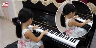 Cô bé  thần đồng  5 tuổi đánh piano hàng loạt bài giao hưởng cực hay