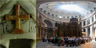 Cận cảnh bên trong mộ Chúa Jesus khi được mở sau hơn 4 thế kỷ