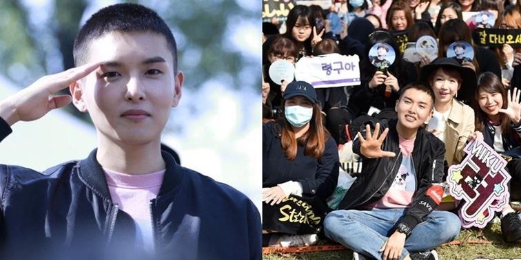 yan.vn - tin sao, ngôi sao - Fan xúc động tiễn Ryeowook lên đường nhập ngũ