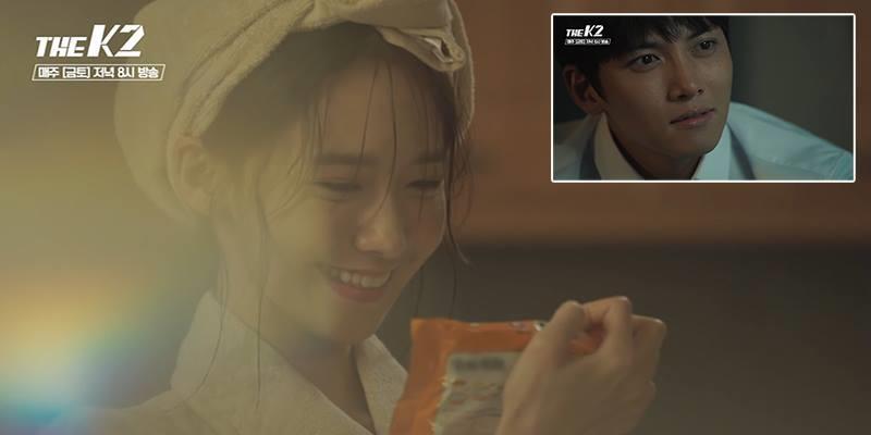 """Cảnh Yoon Ah ăn mỳ tôm đạt rating cao nhất trong """"The K2"""""""