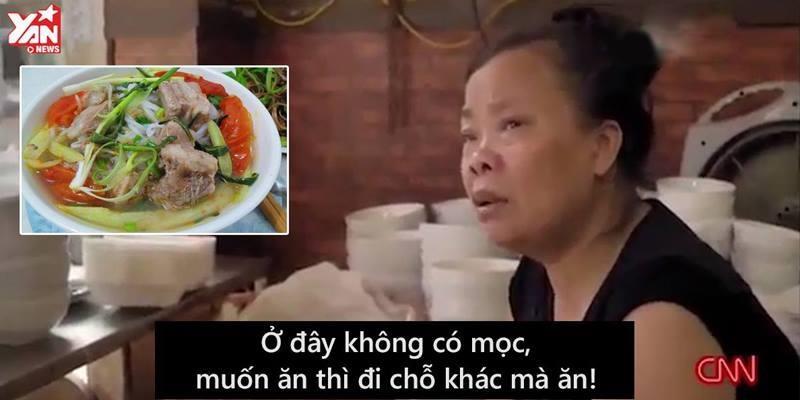 """""""Bún chửi"""" Hà Nội xuất hiện trên truyền hình Mỹ"""