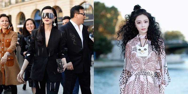 """Dàn sao Hoa ngữ """"nổi bần bật"""" tại Tuần lễ thời trang Paris"""