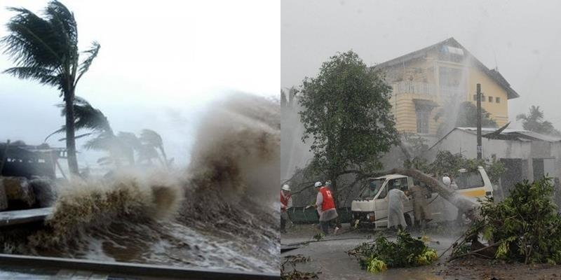 Siêu bão Aere mạnh cấp 10 đang tiến thẳng vào nước ta
