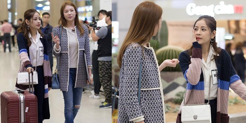 yan.vn - tin sao, ngôi sao - Chi Pu được Á hậu Hàn Quốc ra sân bay chào đón nồng nhiệt