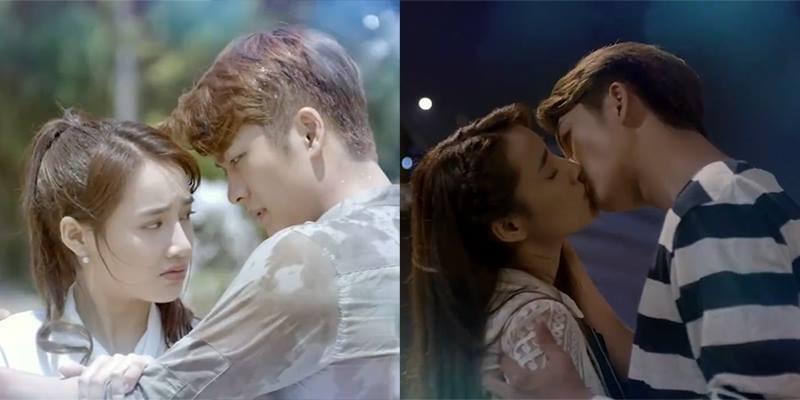 """Nhã Phương liên tiếp hôn trai Hàn trong """"Tuổi thanh xuân 2"""""""