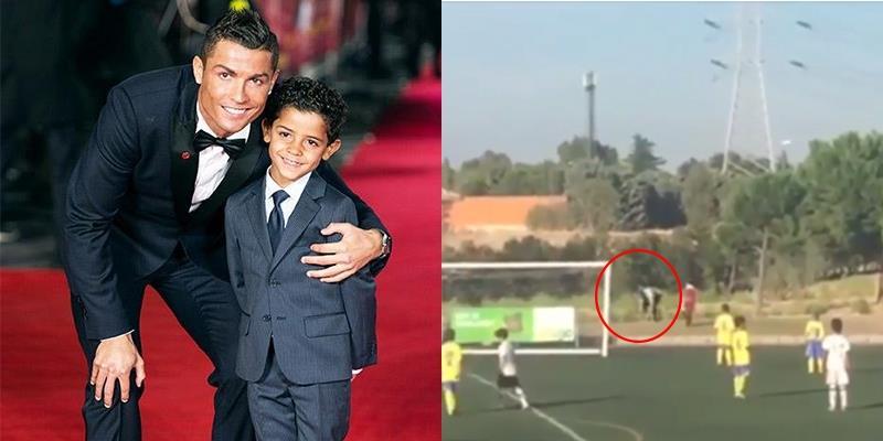 yan.vn - tin sao, ngôi sao - Chán làm tiền đạo, Ronaldo thử sức với vai trò người nhặt bóng