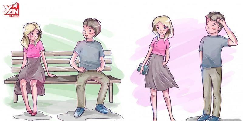 """Muốn biết chàng có thích bạn, hãy """"đọc vị"""" những dấu hiệu này!"""
