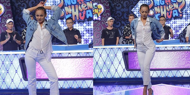 """yan.vn - tin sao, ngôi sao - Mai Ngô táo bạo diện mốt """"không nội y"""" tham gia gameshow"""