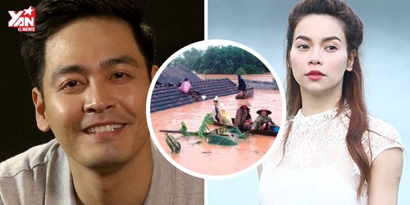 Hành động ý nghĩa của sao Việt vì đồng bào miền Trung