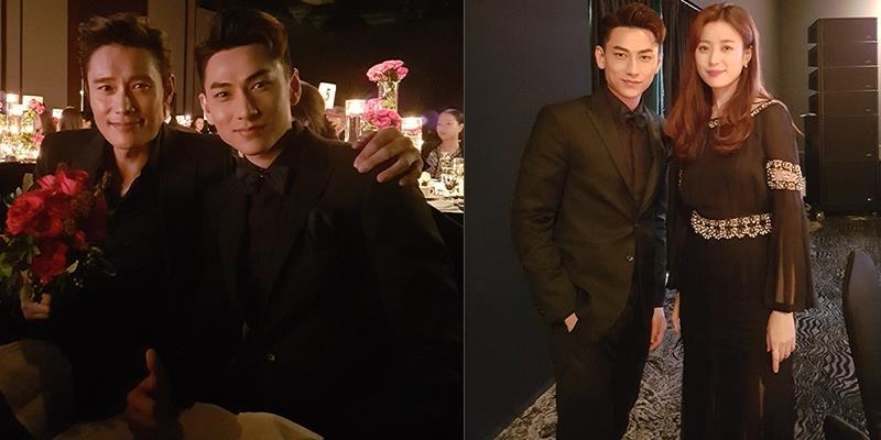 """yan.vn - tin sao, ngôi sao - Isaac khoe vẻ điển trai """"khó cưỡng"""" bên mỹ nam xứ Hàn Lee Byun Hun"""