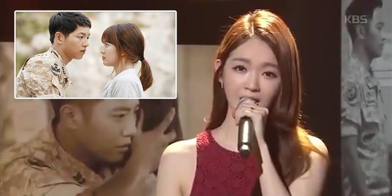 """Davichi hát live nhạc phim """"Hậu duệ mặt trời"""" khiến fan tan chảy"""