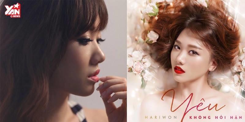 """Hari Won hứa hẹn gây bão với hit mới """"Yêu không hối hận"""""""