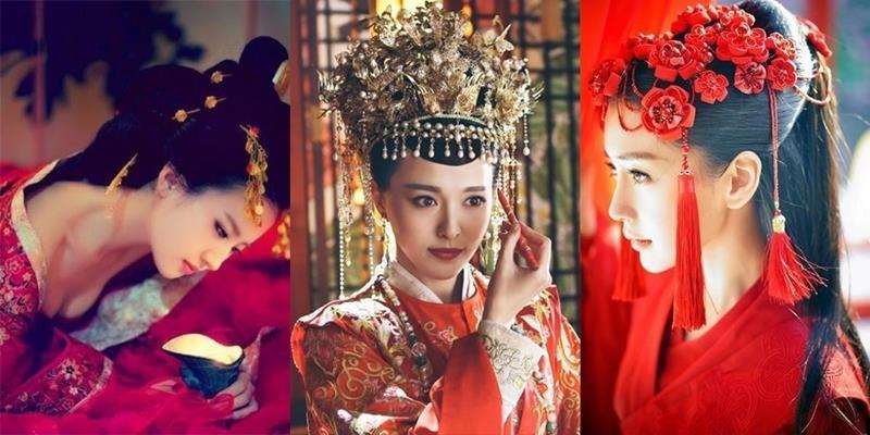 Đọ sắc loạt mỹ nhân cổ trang Hoa ngữ khi cùng diện một màu áo