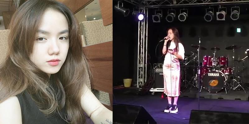 """Phương Ly hát """"Xe đạp"""" của Thùy Chi bằng hai thứ tiếng Việt - Nhật"""