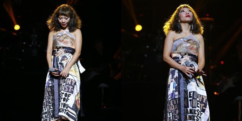 yan.vn - tin sao, ngôi sao - Hà Trần bật khóc nghẹn ngào khi hát về mẹ trên sân khấu