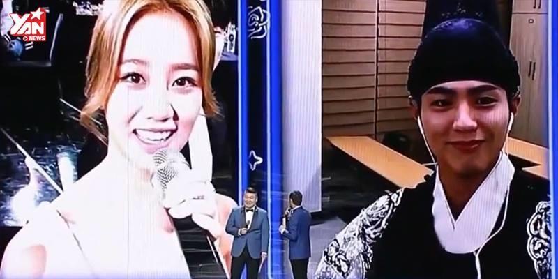 """Park Bo Gum không ngại giới thiệu Hyeri là """"vợ"""" mình tại lễ trao giải"""