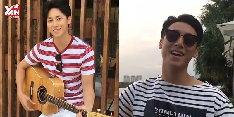 Rocker Nguyễn đốn tim các nàng bằng loạt clip đàn hát siêu nghệ