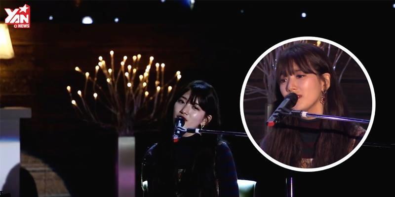 Suzy khoe giọng hay xuất sắc trong fan meeting solo đầu tiên