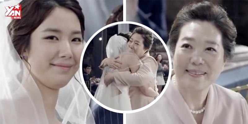 Rơi nước mắt với MV nhạc Hàn về tình mẹ đầy cảm động