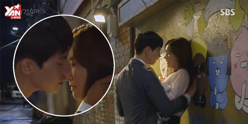 Màn cưỡng hôn bạo lực của Song Jae Rim và Kim So Eun có thể bị phạt