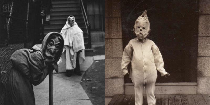 Khóc thét với trang phục Halloween rùng rợn của các cụ thời xưa