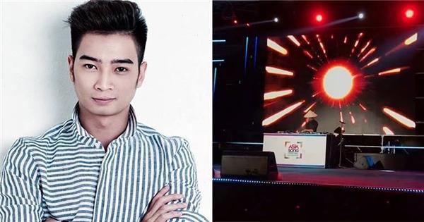 SlimV biểu diễn biểu diễn tại Asia Song Fesival ở Hàn Quốc