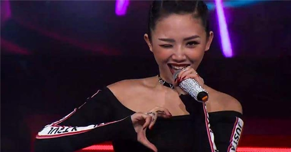 Tóc Tiên bùng cháy, quyến rũ làm khách mời với 'I'm in love'
