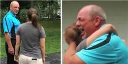 Cảm động trước món quà đặc biệt cô gái dành tặng cha dượng