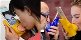 Đã phát minh ra thiết bị hôn môi dành cho những cặp đôi yêu xa