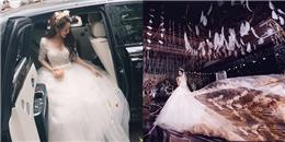 Choáng ngợp trước 'hôn lễ ngôn tình' của hot girl đẹp nhất Trung Quốc