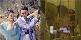 Lộ ảnh Dương Tử và Tần Tuấn Kiệt hôn nhau đắm đuối trong nhà hàng