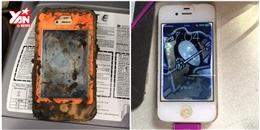 Khó tin iPhone 4 'sống sót' sau 1 năm chìm dưới hồ
