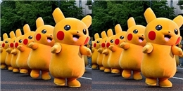 Pokemon khổng lồ 'siêu đáng yêu' xuất hiện tại sân bay Changi