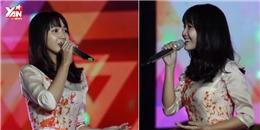 Jang Mi dịu dàng hát