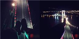 Hãi hùng 'thú vui' leo lên đỉnh cầu lúc nửa đêm để chụp ảnh