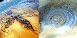Sa mạc Sahara và 'con mắt' bí ẩn làm đau đầu các nhà khoa học