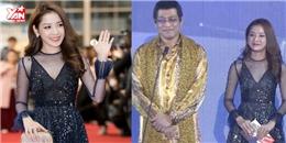 Chi Pu rạng ngời sánh vai Choi Jin Hyuk trao giải cho chủ nhân PPAP