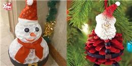 Hướng dẫn cách làm đồ trang trí Noel tự chế siêu đơn giản