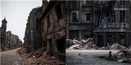 Ám ảnh bởi 'thị trấn ma' bước ra từ phim trường lớn nhất châu Âu