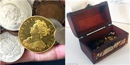 Rinh khoản tiền 'khủng' nhờ phát hiện đồng xu 300 năm tuổi