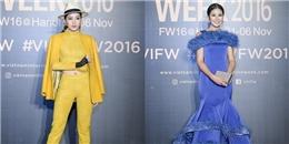 Chi Pu cá tính, tự tin 'đọ sắc' cùng dàn Hoa hậu Việt tại VIFW 2016
