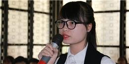 Nữ sinh viên 'lương khởi điểm 2.000 USD' nói gì khi bị ném đá?