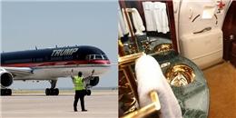 Choáng ngợp chuyên cơ nội thất dát vàng 100 triệu đô của Donald Trump