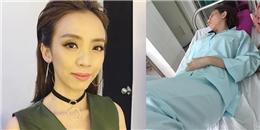Sao Việt lo lắng khi 'hoa hậu hài' Thu Trang nhập viện cấp cứu