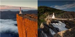 Hành trình thực hiện bộ ảnh cưới ấn tượng của cặp đôi lái xe 10.000km