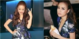 yan.vn - tin sao, ngôi sao - Bận rộn công việc, Hoàng Thùy Linh ăn vội bánh mì trước giờ ghi hình